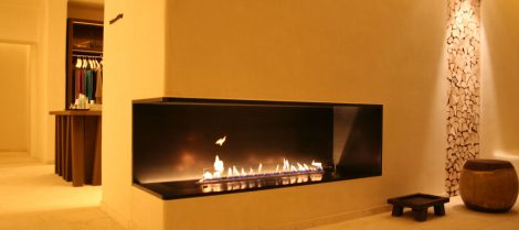 Lisbeth - Montreal automatic made-to-measure bio-ethanol fireplace 2